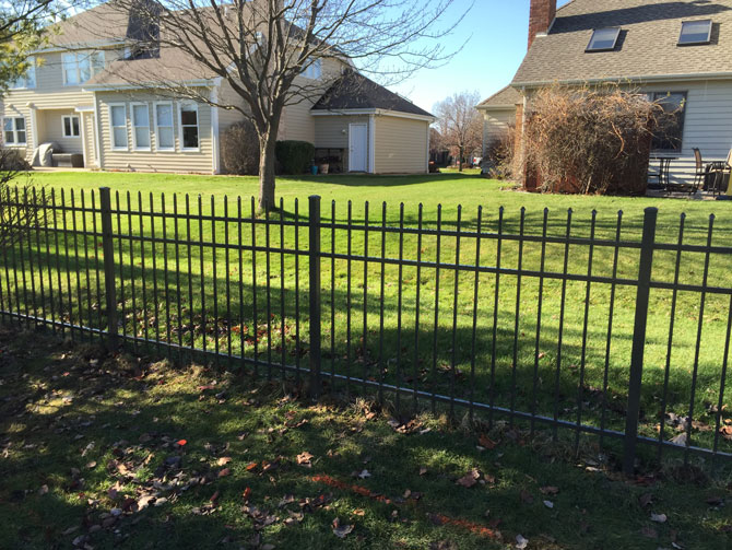 Aluminum Fence - Fence Installation in Orland Park IL