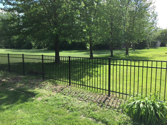Aluminum Fence - Fence Installation in Lemont IL