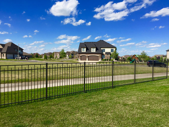 Aluminum Fence - Fence Installation in New Lenox IL