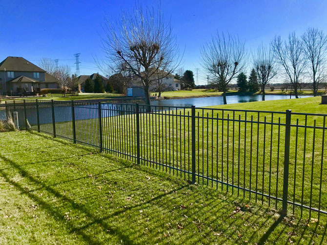 Aluminum Fence - Fence Installation in Homer Glen IL