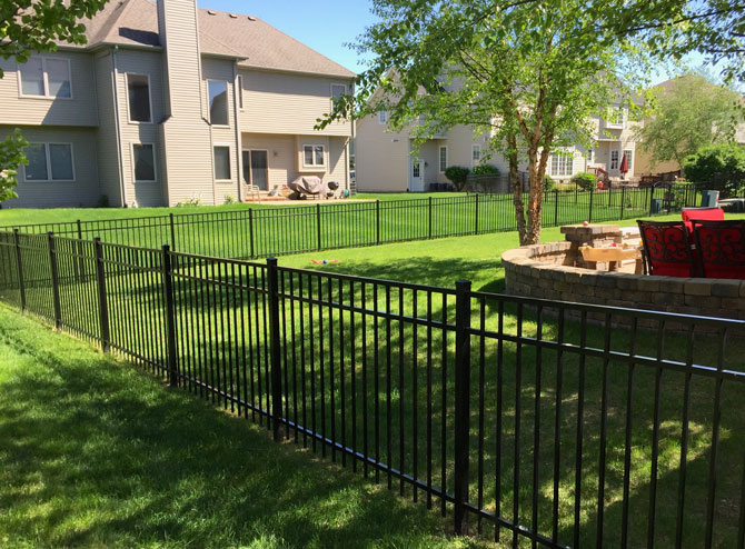 Aluminum Fence - Fence Installation in Tinley Park IL