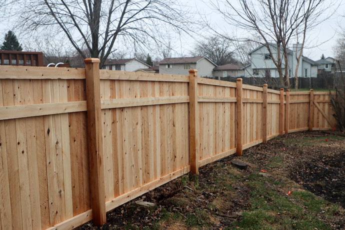Wood Fence Installation in Tinley Park, IL