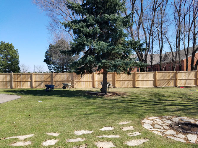 Wood Fence - Privacy Traditional Fence Installation in New Lenox IL