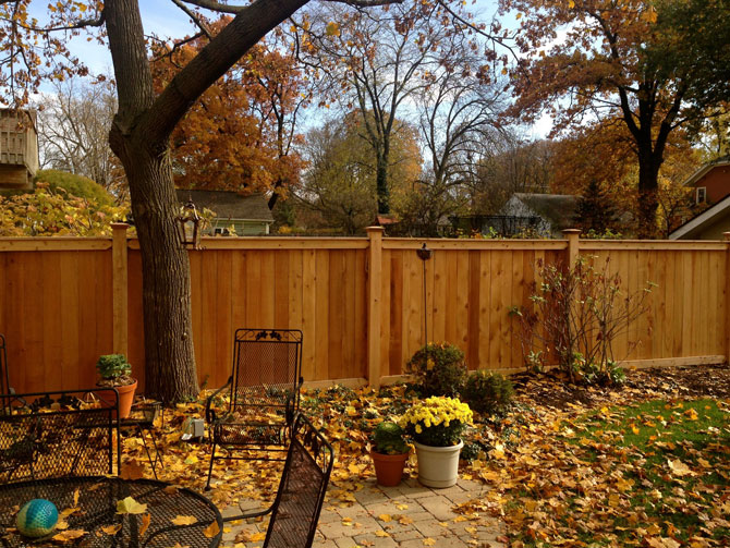 Wood Fence - Privacy Traditional Fence Installation in Orland Park IL