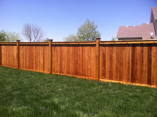 Wood Fence - Privacy Traditional Fence Installation in Tinley Park IL