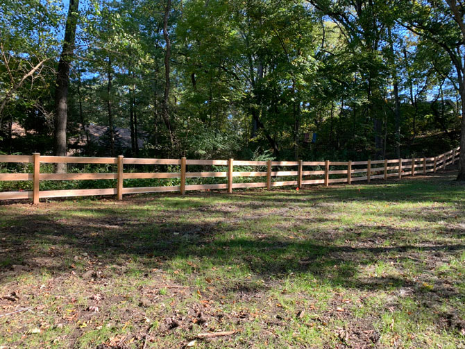 Wood Fence - Rail Fence Installation in Palos Park IL